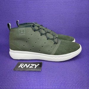 Under Armour Charged 24/7 Mid Olive Green Sneakers